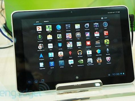 Acer представила свои новые планшеты