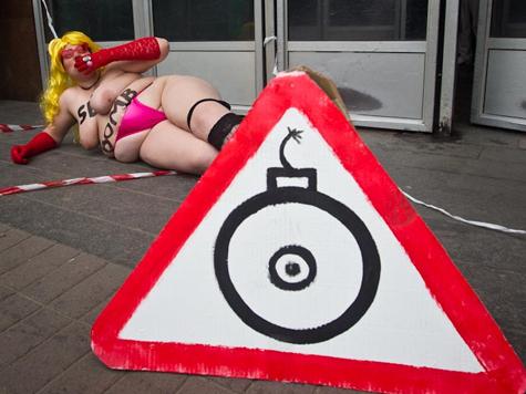 В Киеве взорвалась «секс-бомба»
