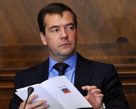 Медведев отрекся от цензуры в интернете