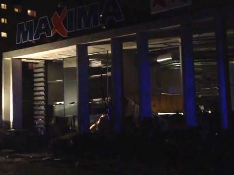 Число погибших под обломками супермаркета в Риге возросло