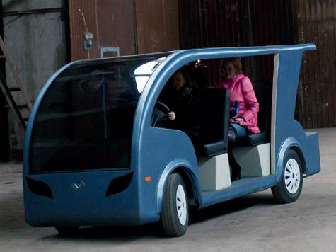 Астраханские инженеры создали новый электромобиль