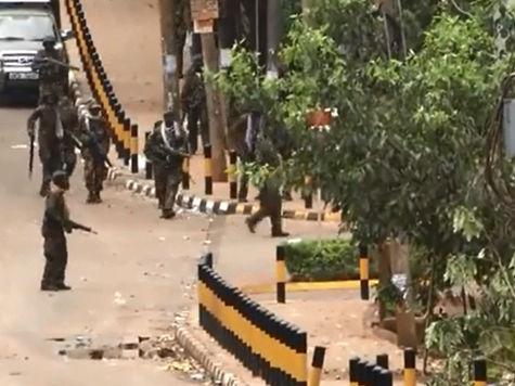 Стрельба в кенийском ТЦ возобновилась
