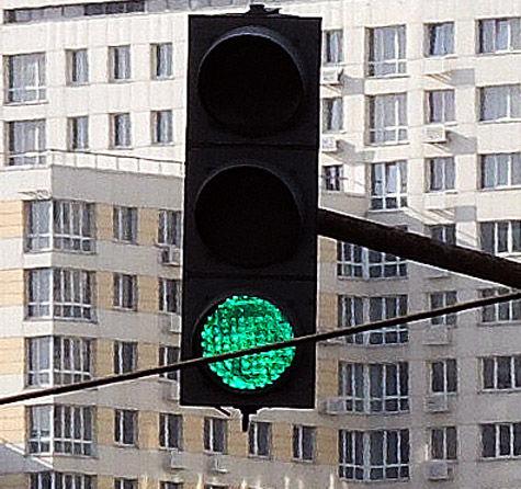 Светофоры будут искать вокруг себя радиацию