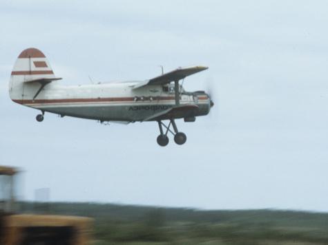 В Свердловской области «угнали» самолет Ан-2