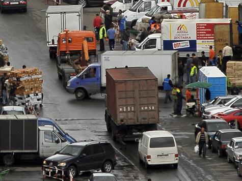 Такой грузовик Москва не потянет