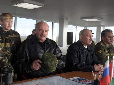 Младший Лукашенко поиграл с Путиным в войну