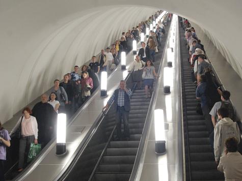 Москвичи полюбили метро и электрички