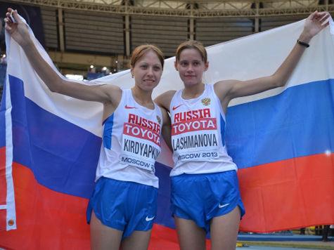 У России второе золото домашнего ЧМ по легкой атлетике