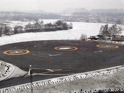 В Подмосковье появится сеть вертолетных площадок