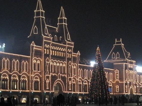 К новогодним праздникам Москва превратится в