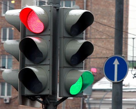 Светофоры в Москве могут стать виртуальными
