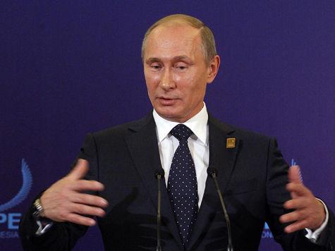 В Тобольске Путину показали потенциал подгузников