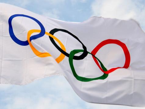 Ниже знамя российского спорта!