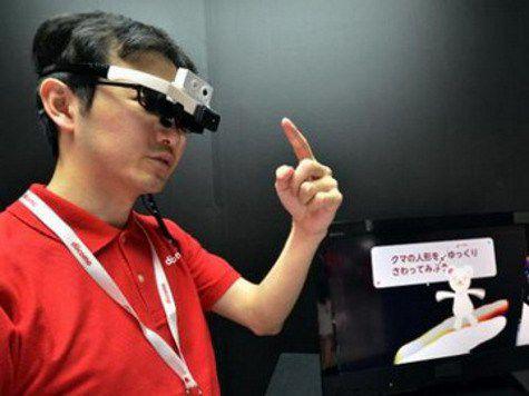 Японцы придумали очки, которые переводят текст во время его чтения