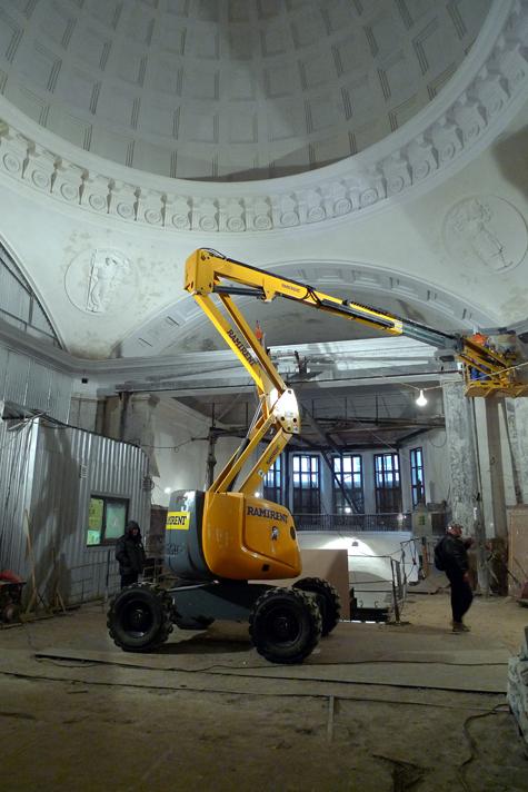 Открывается станция метро «Парк культуры»-кольцевая