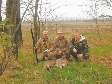 охотник и рыболов охота на барсука