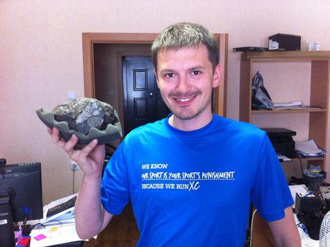 Владелец челябинского метеорита хочет продать его за миллион долларов