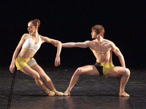 Онлайн секс балет