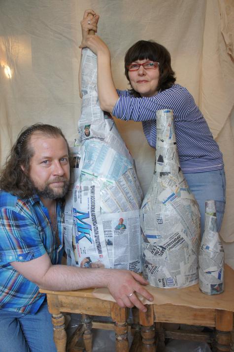 «МК» устроит газетный арт