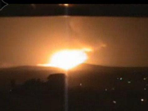 СМИ сообщают об ударе Израиля по сирийской авиабазе