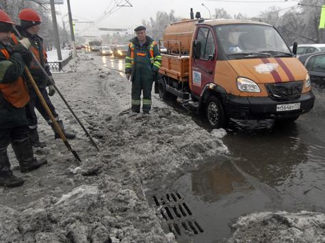 Скандинавский циклон вернул в Москву зиму