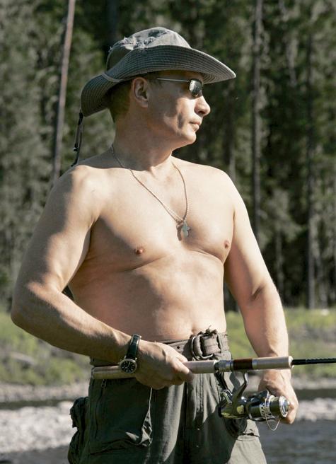 Владимир Путин: «На фига платная рыбалка вообще?»