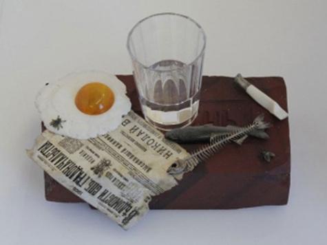 Музей Фаберже выложил миллион за яичницу и скелет селедки