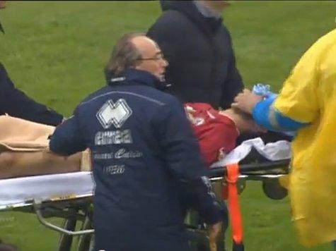 «Анжи» не дали почтить память футболиста Морозини. ВИДЕО