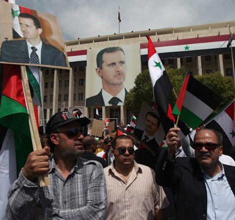 Рок арабской политики