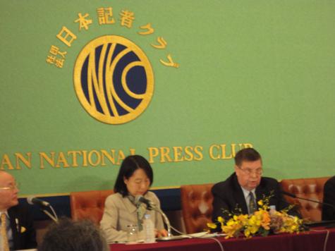 Новый посол встретился с прессой