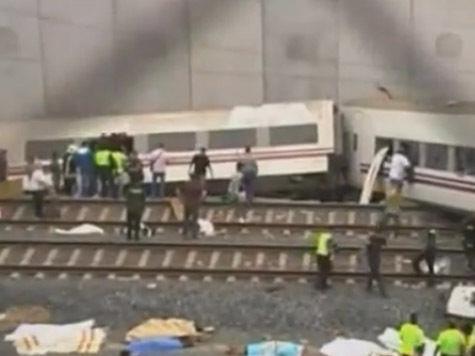Причиной катастрофы в Испании могло стать превышение скорости