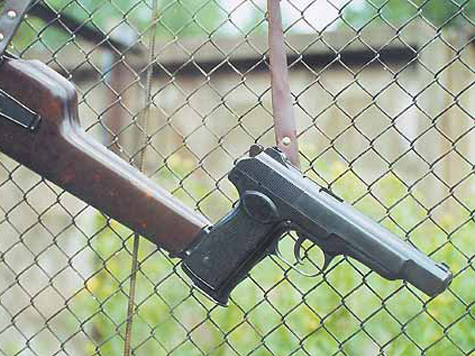 На международную оружейную выставку Россия привезла пистолеты 1948 года