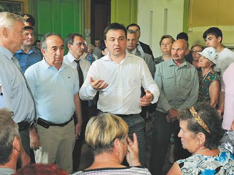 выборы губернатора андрей воробьев подмосковье