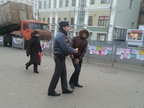 увольнение полицейский уличные торговцы