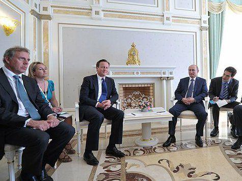 Путин и британский премьер решили «разморозить» сотрудничество спецслужб