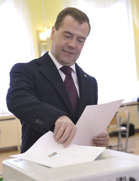 Медведев проявил настойчивость
