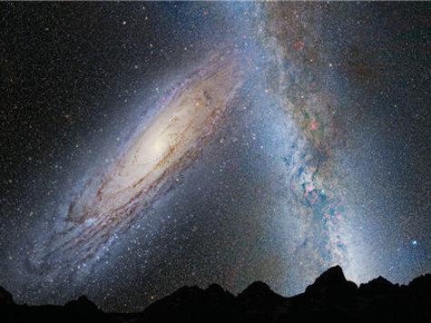 Наша Солнечная Система неизбежно столкнется с галактикой Андромеды
