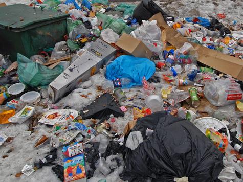 Полковники разбогатели на кучах мусора