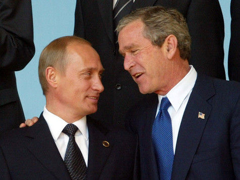 Буш-младший о Путине: «Он – царь, но при этом плохо информирован»