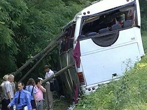 Водитель разбившегося под Черниговом автобуса арестован