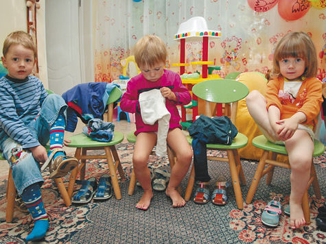 В детский сад через Интернет