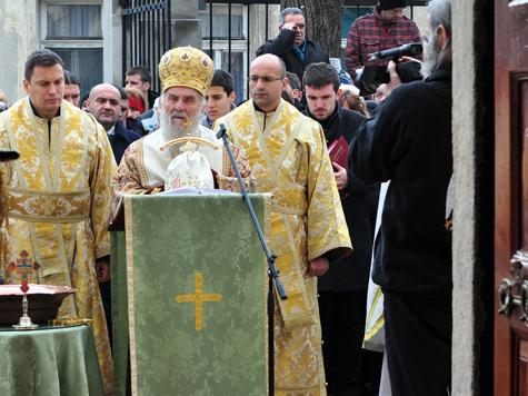 Братья-славяне отметили праздник Крещения