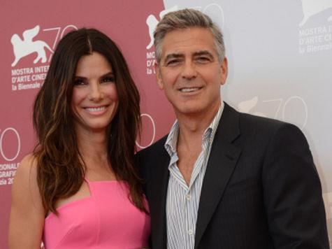Клуни и Буллок в поиске «Гравитации»