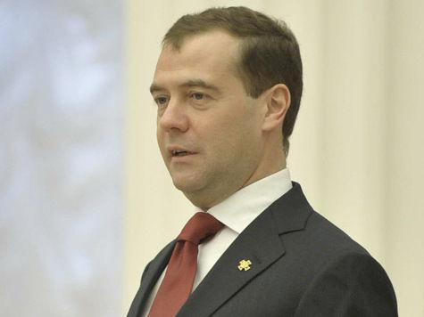 Медведев провел совещание в песочнице