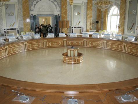 На питерском саммите съедят 50 тонн продуктов