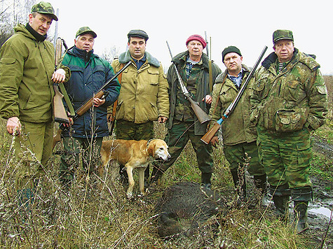даровское общество охотников и рыболовов