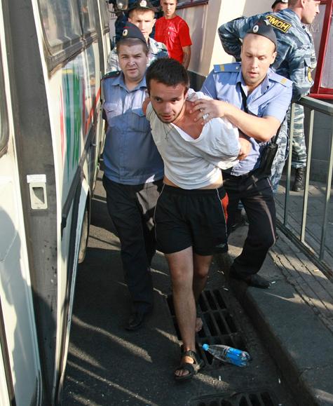 Активисты готовятся к задержаниям