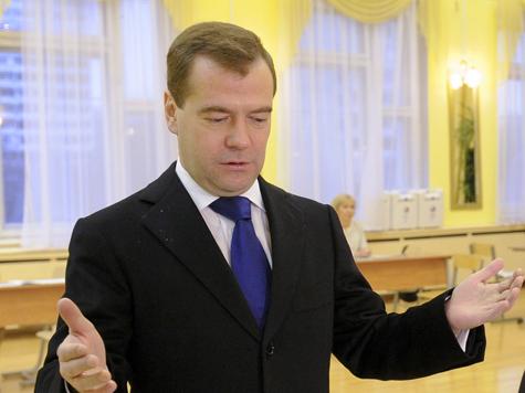 Медведев не понял, зачем миловать тех, кто об этом не просит