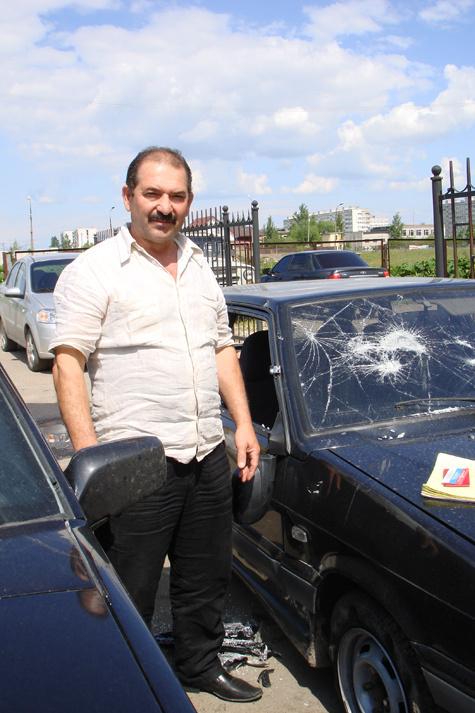 Мусса Газиев считает, что сын, стреляя, только оборонялся. Фото: Светлана Самоделова.