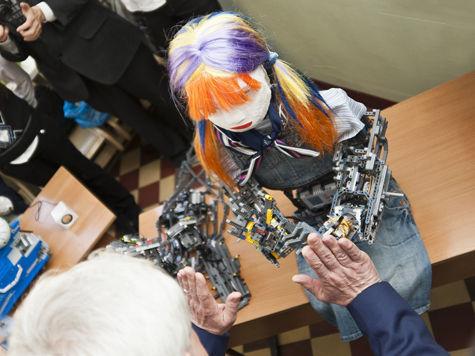 Российский робот выиграл олимпиаду